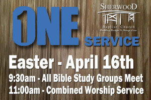 ONE Service Sunday | 11am