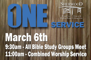 ONE Service Sunday