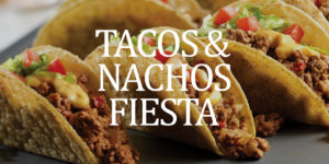 Children's Ministry Taco and Nacho Lunch Fundraiser